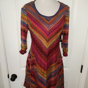 New Direction Sweater Dress L